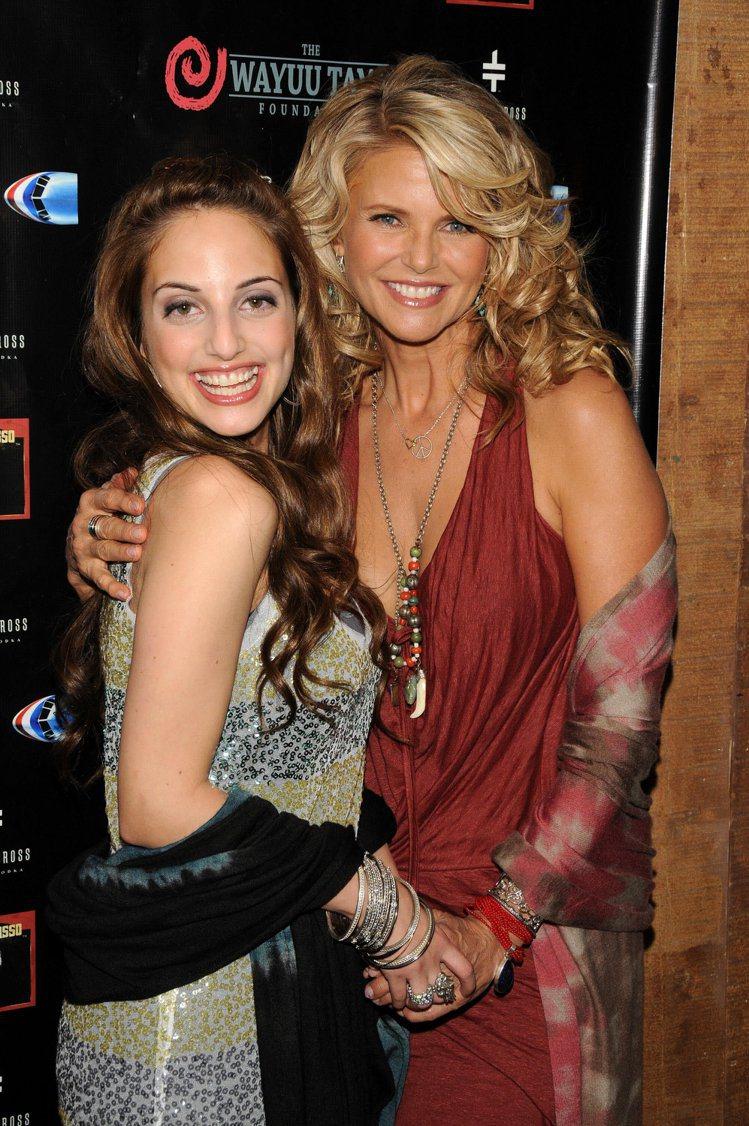 艾莉莎蕾喬(左)和布莉絲蒂布林克利(右)是母女?打死都難相信。圖/網路圖片