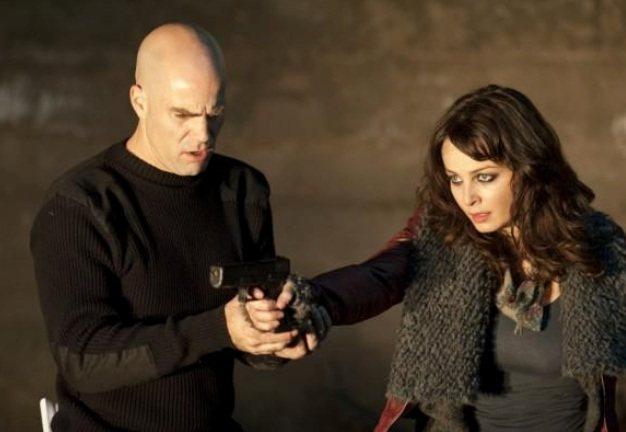 薇蘭蒂普拉西多在《3D惡靈戰警:復仇時刻》飾演吉普賽單親媽媽。圖/威視電影提供