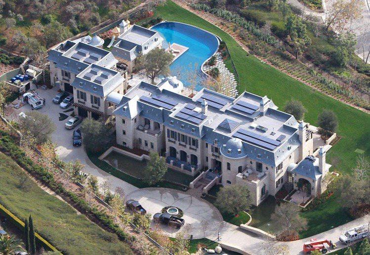 超級名模吉賽兒的豪宅曝光,奢華程度很驚人。圖/達志影像