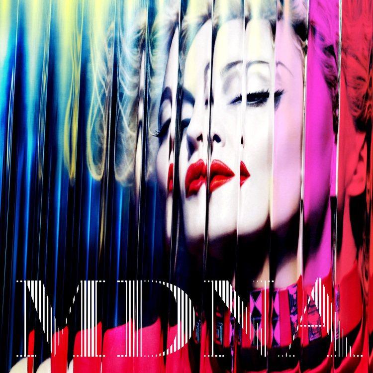 Madonna 瑪丹娜重返樂壇,將於3/26發行第12張專輯《MDNA》。圖/s...