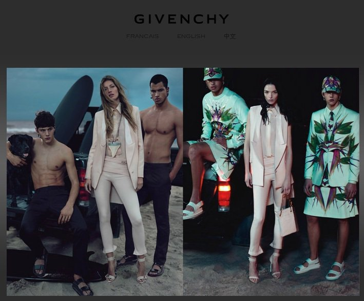Gisele與GIVENCHY設計師Riccardo Tisci的謬斯超模Mar...