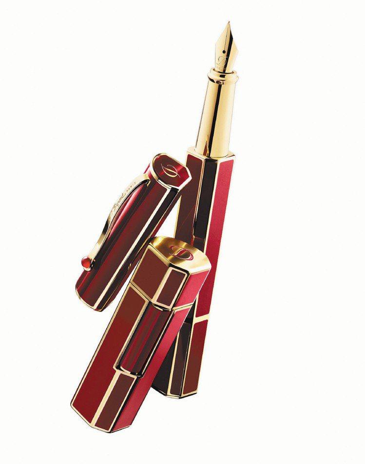 S.T.Dupont女用Prestige鋼筆,22,000元,打火機 21,30...