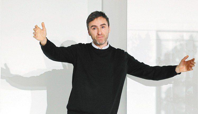 Jil Sander設計總監Raf Simons去職。圖/路透
