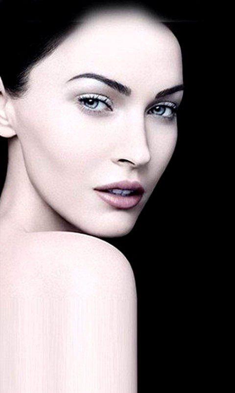 梅根福克斯為Armani彩妝拍攝的最新形象照。圖/達志影像