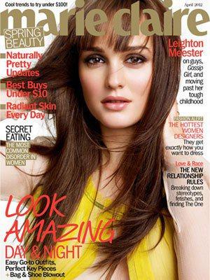 萊頓明斯特是美國版美麗佳人4月份封面人物。圖/美麗佳人提供