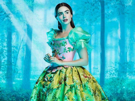 濃眉儼然已成為《魔鏡,魔鏡》女主角莉莉柯林斯(Lily Collins)的正字標...