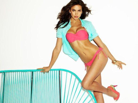 伊蓮娜最近為品牌Blanco拍攝了2012全新泳裝系列照。圖/達志影像
