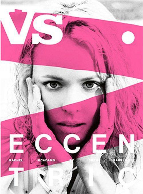 瑞秋麥當斯登上時尚雜誌Vs. Magazine封面,由女星茱兒芭莉摩所掌鏡。圖/...