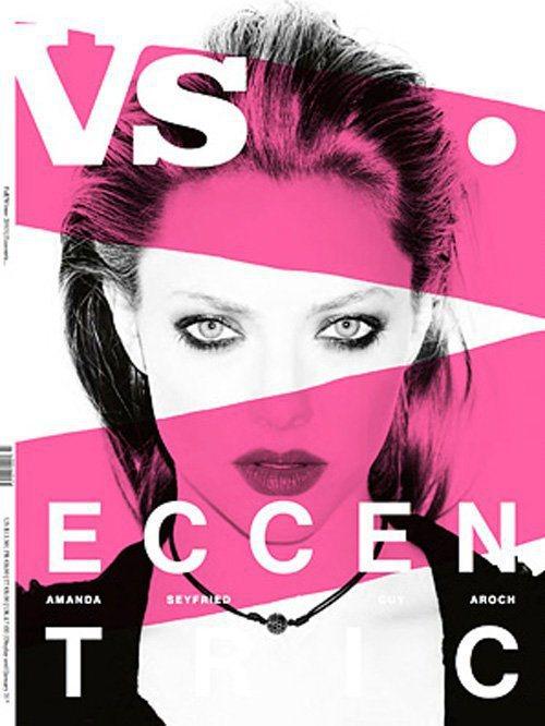 亞曼達塞佛瑞登上時尚雜誌Vs. Magazine封面。圖/擷取自celebspi...