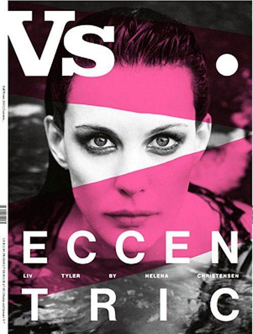 麗芙泰勒登上時尚雜誌Vs. Magazine封面。圖/擷取自celebspin....