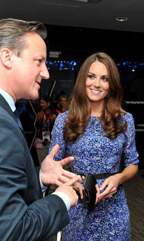 凱特密道頓在奧運閉幕時穿的Whistles印花洋裝讓品牌同類型單品賣到缺貨。圖/...