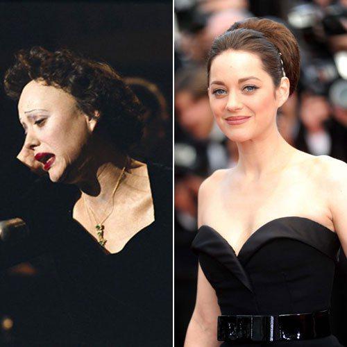 瑪莉詠柯蒂亞在《玫瑰人生》中飾演法國歌后Edith Piaf,而為了要更加貼近角...