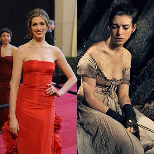 安海瑟威為了扮演性感美豔的貓女,努力節食瘦身,在《悲慘世界》中不僅為戲剪去一頭飄...