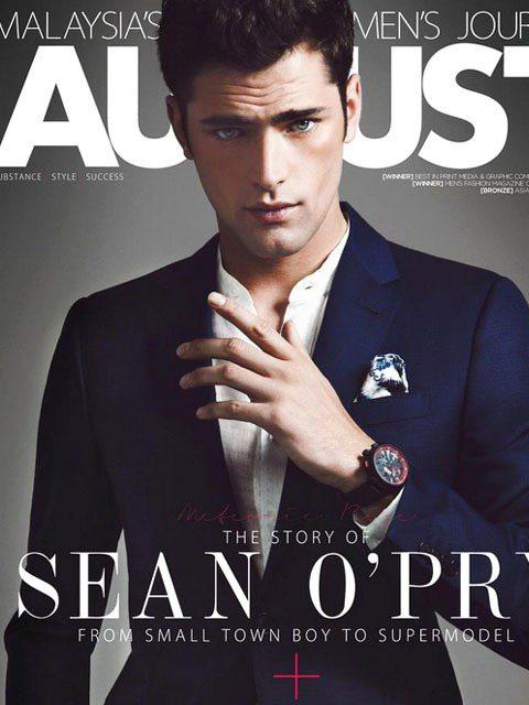Sean O'pry接受AugustMan雜誌專訪,表示他目前事業重心依舊放在模...