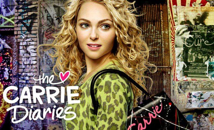 安娜蘇菲亞羅勃在《凱莉日記》中的穿著是影集賣點之一。圖/CW提供