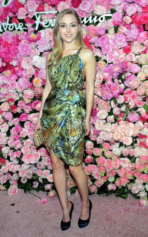 安娜蘇菲亞羅勃甜美外型也讓她經常受邀參加許多時尚場合。圖/達志影像