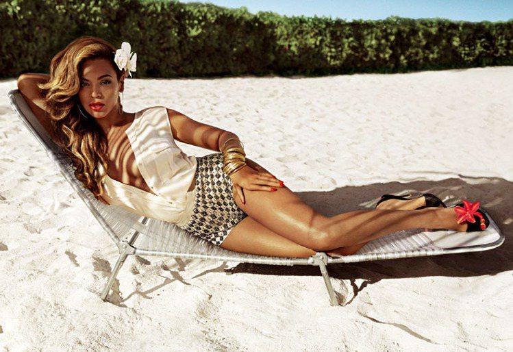 碧昂絲成為流行品牌H&M代言人。圖 /達志影像