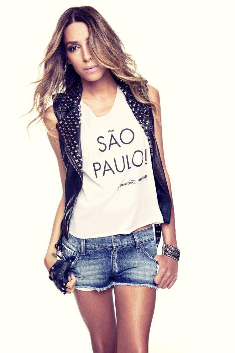 巴西變性名模Lea T。圖/Calvin Klein提供