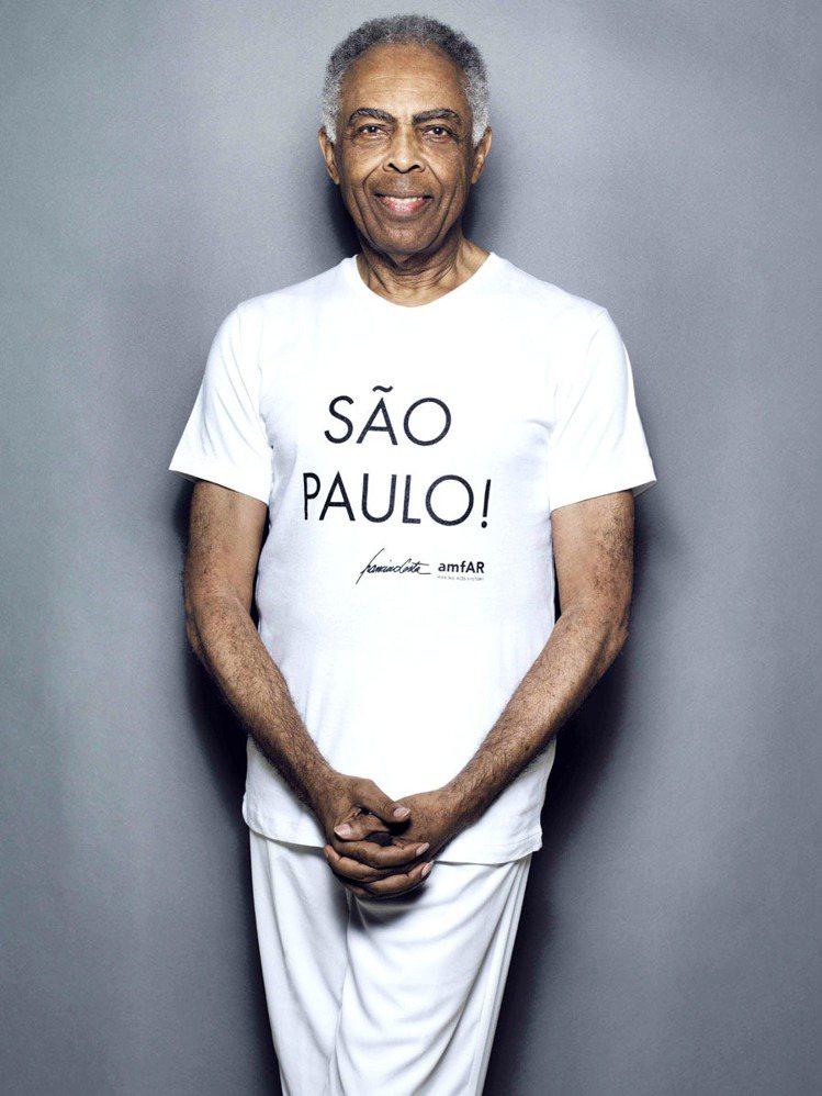 巴西文化部長Gilberto Gil。圖/Calvin Klein提供