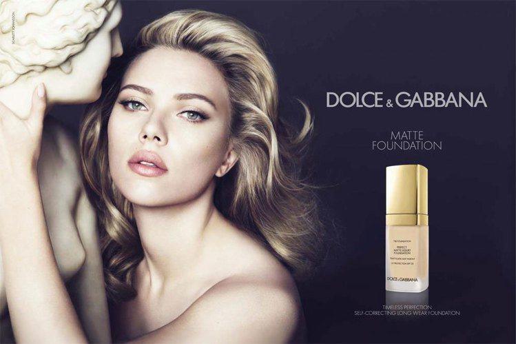 史嘉莉喬韓森2013最新Dolce & Gabbana彩妝代言照。圖/Dolce...