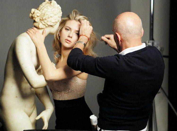 2013最新Dolce & Gabbana彩妝形象廣告拍攝花絮。圖/Dolce ...