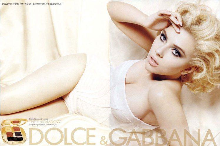 Dolce & Gabbana 2012春夏彩妝形象照。圖/Dolce & Ga...