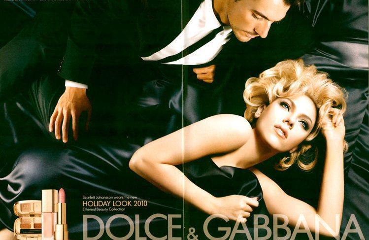 Dolce & Gabbana 2010秋冬彩妝形象照。圖/Dolce & Ga...