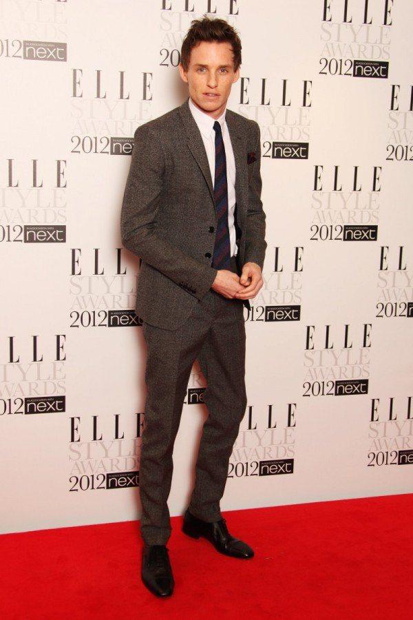Eddie Redmayne出席Elle雜誌風尚獎。圖/BURBERRY提供