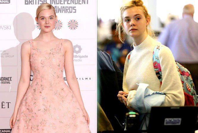 達柯塔芬妮15歲的妹妹艾兒芬妮,素顏和上妝完全沒什麼兩樣。白裡透紅的皮膚與她的金...