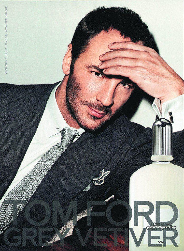 Tom Ford有著「地表上最性感的設計師」 封號。圖/美聯社