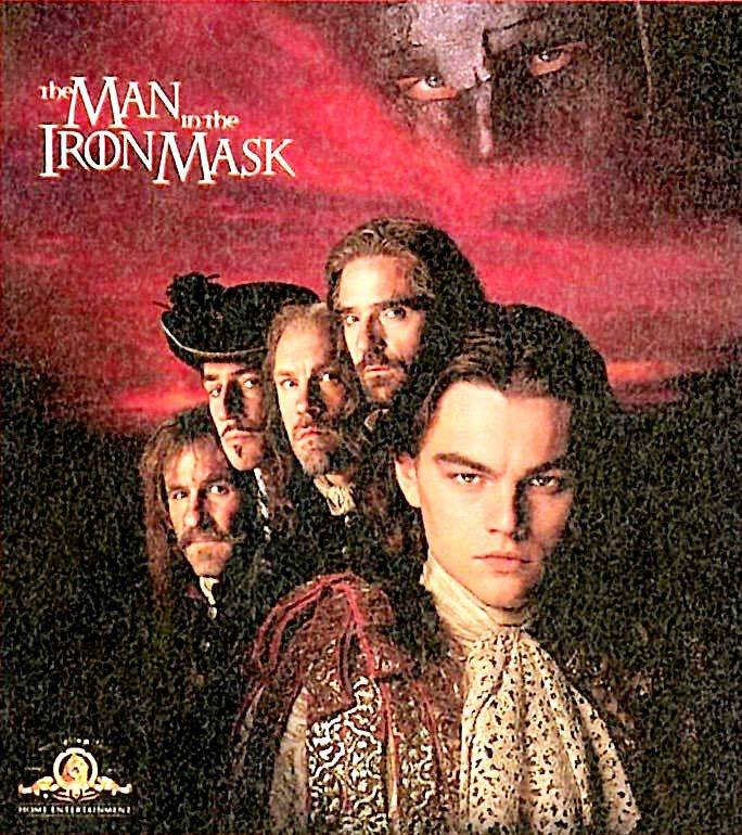 李奧納多在《鐵面人》裡一人分飾兩角。圖/聯合報資料照