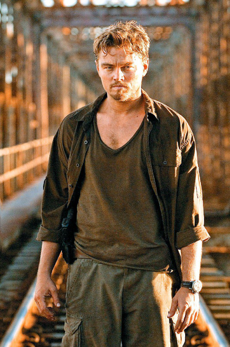 李奧納多在《血鑽石》中表現亮眼,入圍奧斯卡最佳男主角獎。圖/華納提供
