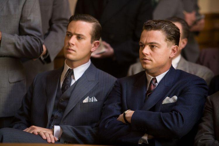 李奧納多在《強艾德格》中飾演前FBI局長強艾德格胡佛。圖/華納提供