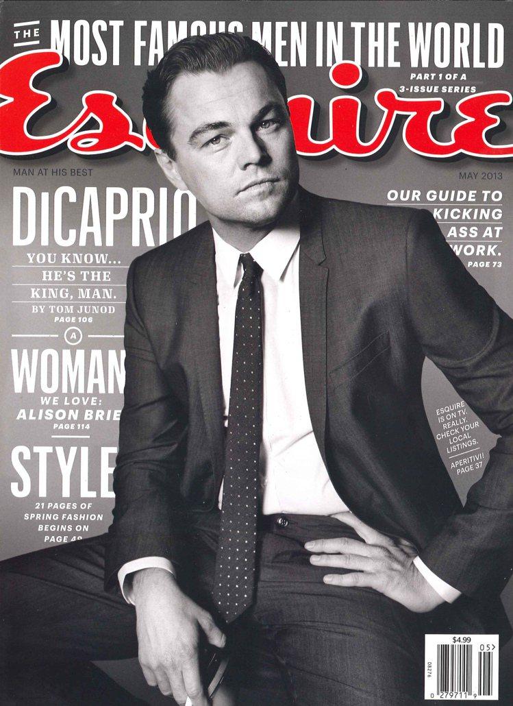李奧納多日前登上《君子雜誌》封面。圖/達志影像