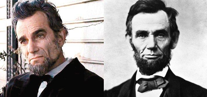 丹尼爾戴路易斯飾演的林肯靠著高超化妝技術和好演技把觀眾唬得一愣一愣的。圖/福斯提...