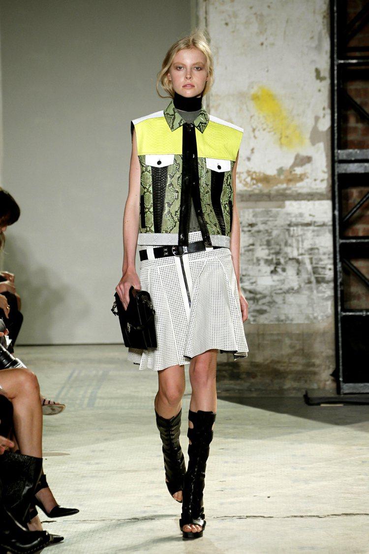 Proenza Schouler甜而不膩,品牌的設計師雙人組榮獲CFDA最佳女裝...
