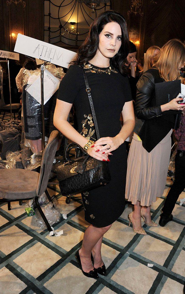 拉娜德芮也是年輕人心中的新一代時尚指標人物。圖/達志影像
