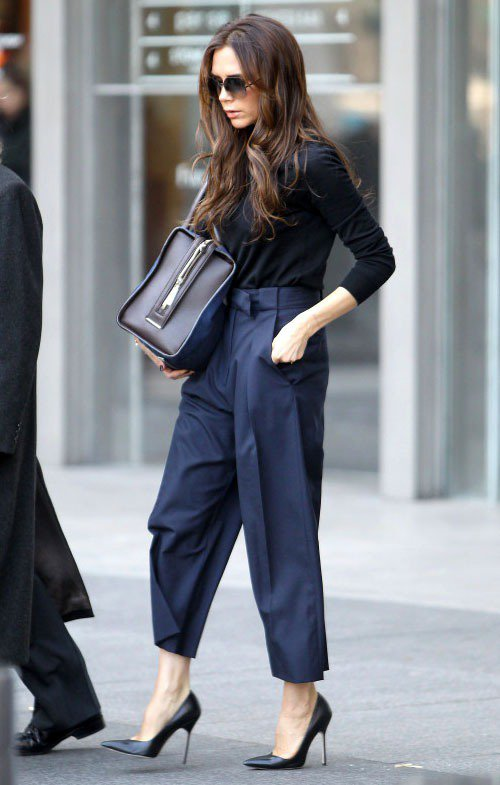 維多利亞貝克漢獲「選鞋品味最佳女星」封號。圖/達志影像