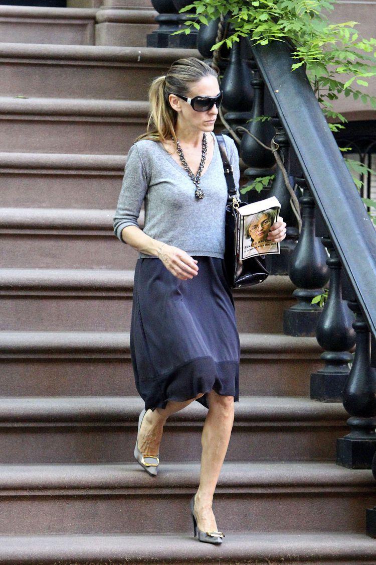 「選鞋品味最佳女星」第三名是莎拉潔西卡派克。圖/達志影像