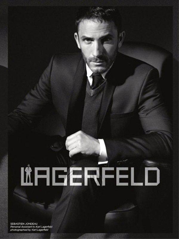 老佛爺卡爾拉格斐的私人保鑣兼助理Sébastien Jondeau成為Lager...