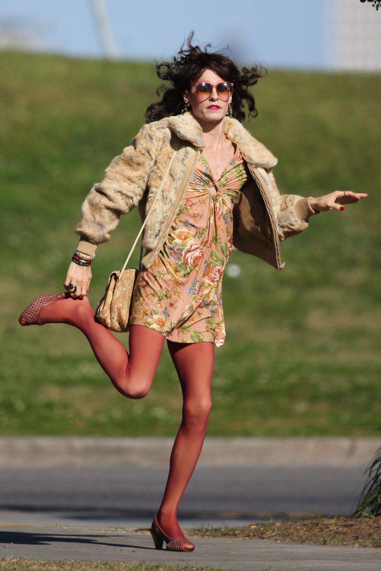 傑瑞德雷托在《達拉斯買家俱樂部》中飾演有變裝癖的愛滋病患。圖/達志影像