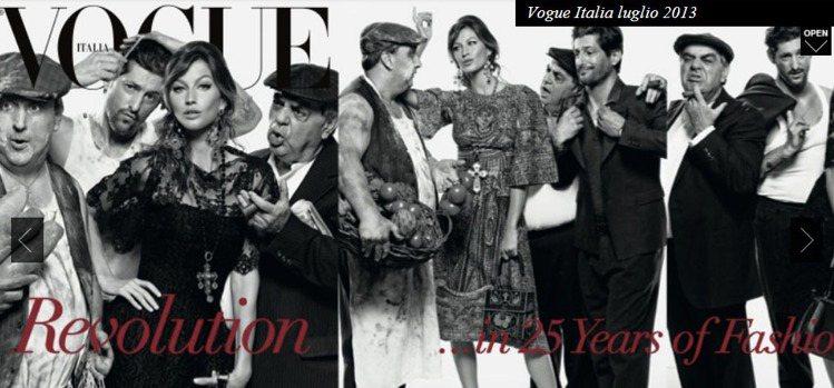25週年的義版《VOGUE》,Franca Sozzani 與攝影師 Steve...