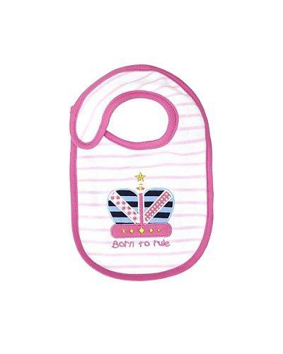 皇室寶寶紀念圍兜兜。圖/擷取自英國每日郵報