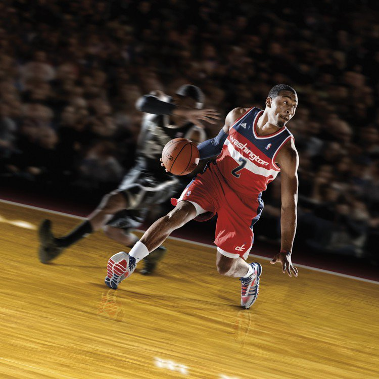 adidas 今夏大打球星牌宣傳Crazy Quick鞋款。圖/adidas提供