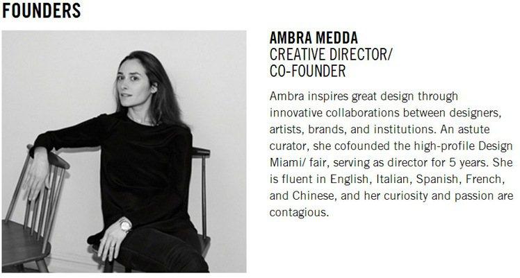 L'ArcoBaleno藝品網站網羅全球各地的高價家具和設計收藏品,年方32的網...