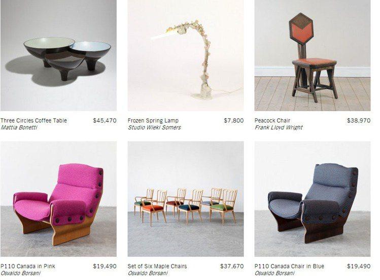 L'ArcoBaleno藝品網站(義大利文的「彩虹」),網羅全球各地的高價家具和...