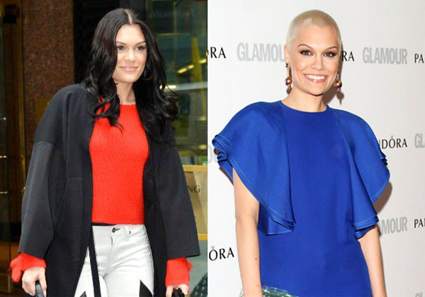 英國歌手Jessie J長髮時期就已經作風大膽,嗆辣的猛妞形象和美國的Pink不...