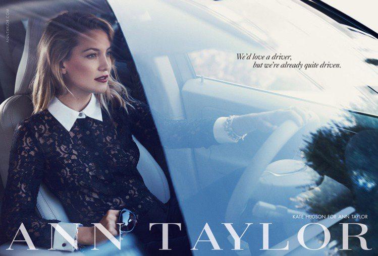 哈德森:「這廣告是我最喜歡的一個平面作品,它完全是現代女性還有我本人平常生活某部...