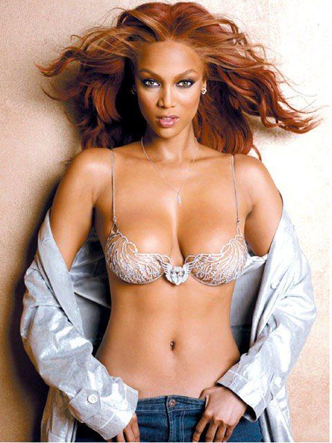 泰拉班克斯(Tyra Banks)有「超級名模之母」的稱號。圖/美聯社