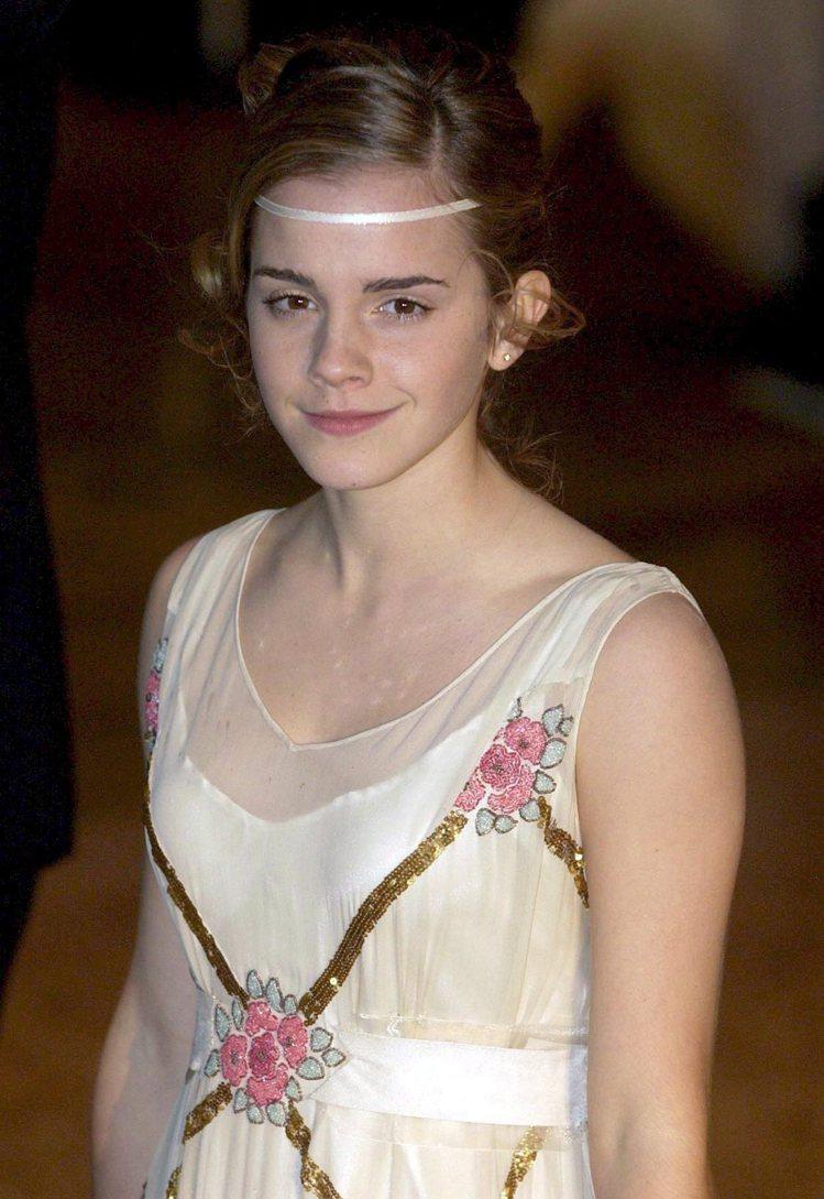 2007年的艾瑪華森。圖/歐新社